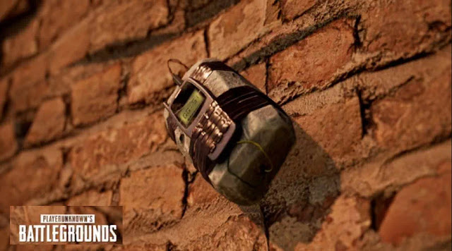 The new type of bomb that seems to be detonated based on this timer bomb also makes the Karakin folder even more interesting. Moreover, many parts of the building that can be blown up and make the playstyle of PUBG change completely.