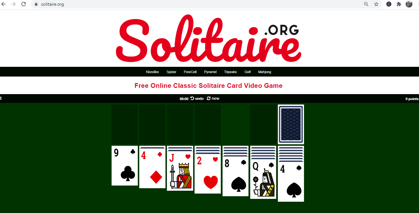 game legend solitaire