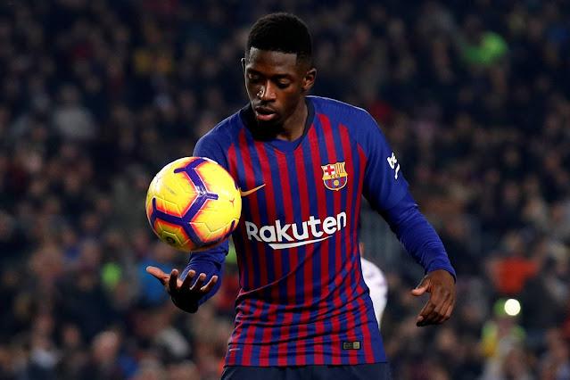 إدارة برشلونة ترمي الكرة في ملعب عثمان ديمبيلي لتجديد عقده