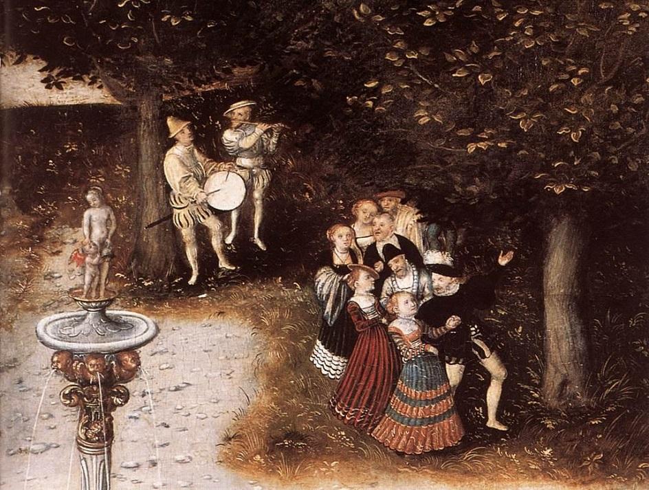 Early European Gardens & Farms: Garden Celebrations - 1546