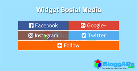 Memasang Widget Sosial Media di Blog