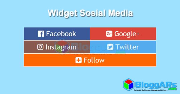 Memasang Widget Sosial Media di Blog