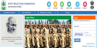 SSC Recruitment 2018 For GD Constable | Online Application Process for 54953 Posts To Start From