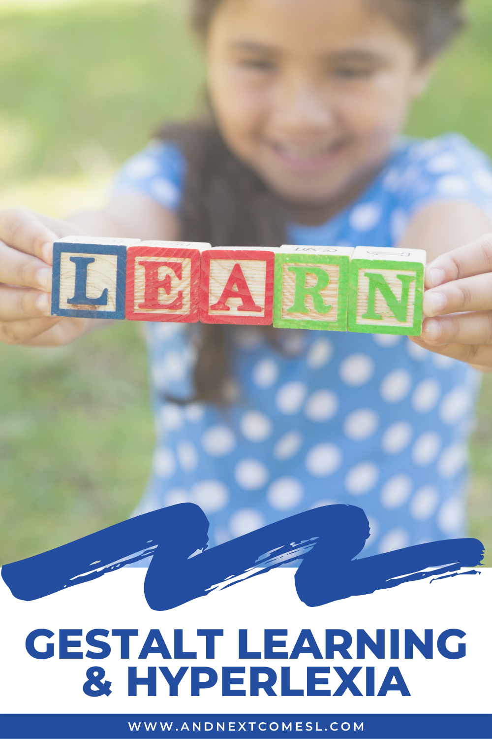 Gestalt learning and hyperlexia: what is a gestalt learner exactly? Learn more about gestalt processing of language here