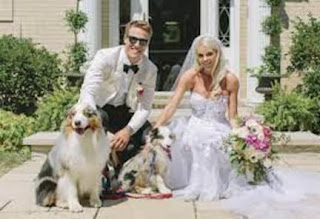 Grace And Anders On Their Wedding Day