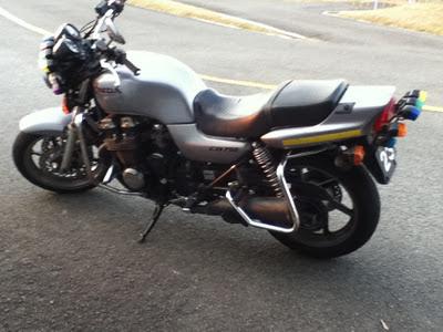 教習バイク