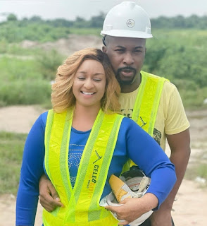 """GX GOSSIP: """"Your ice cream appreciates you"""" Ultimate Love star, Rosie fuels speculation she and Ruggedman are an item as she posts photos of them together then acknowledges comments about their love"""