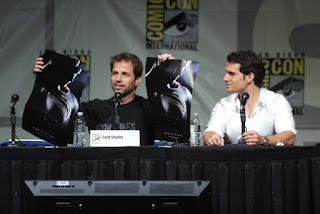Zack Snyder Henry Cavill Man of Steel Comic Con