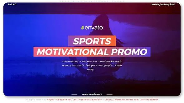 Videohive Sports Motivational Promo 28575841