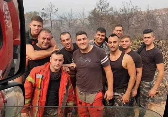 Beirut Mourns in the Lose of Labanese Firefighters--Not even Found their Body Parts for Burial