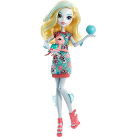 Monster High Lagoona Blue Ghoul's Beast Pet Doll