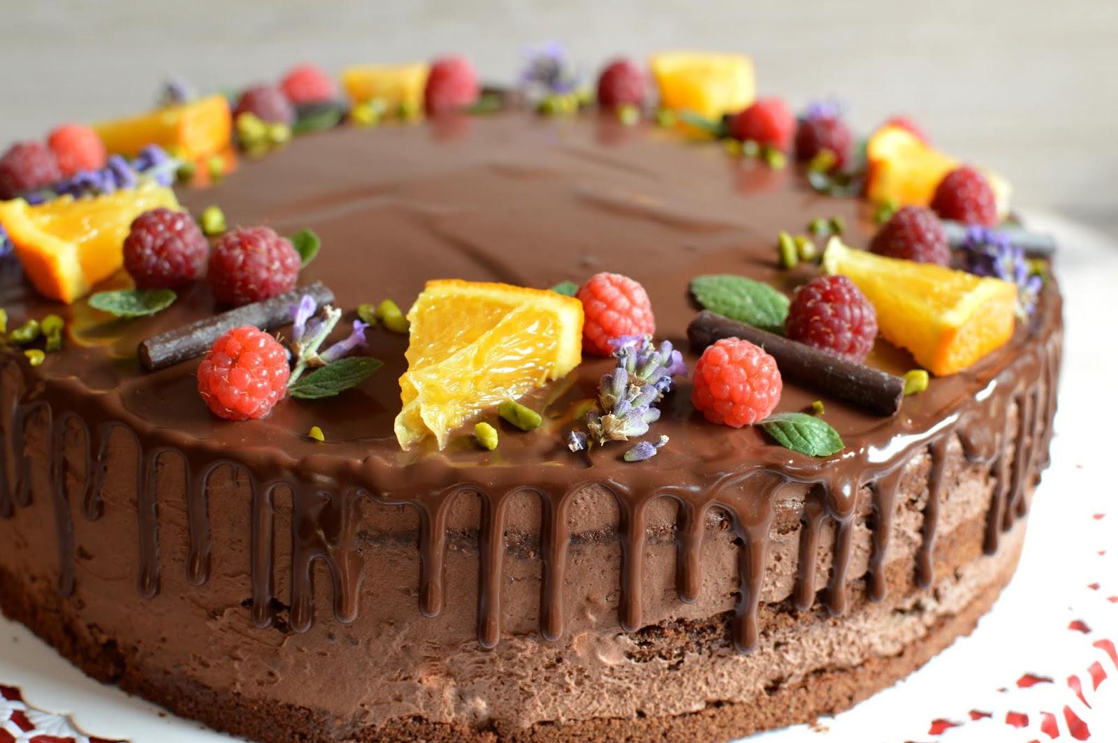 Julias Zuckersusse Kuchenwelt Schoko Orangen Torte