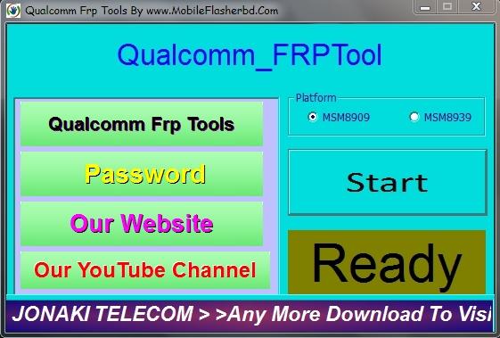 Qualcomm Frp Tools Free Download By MobileFlasherbd R Jonaki