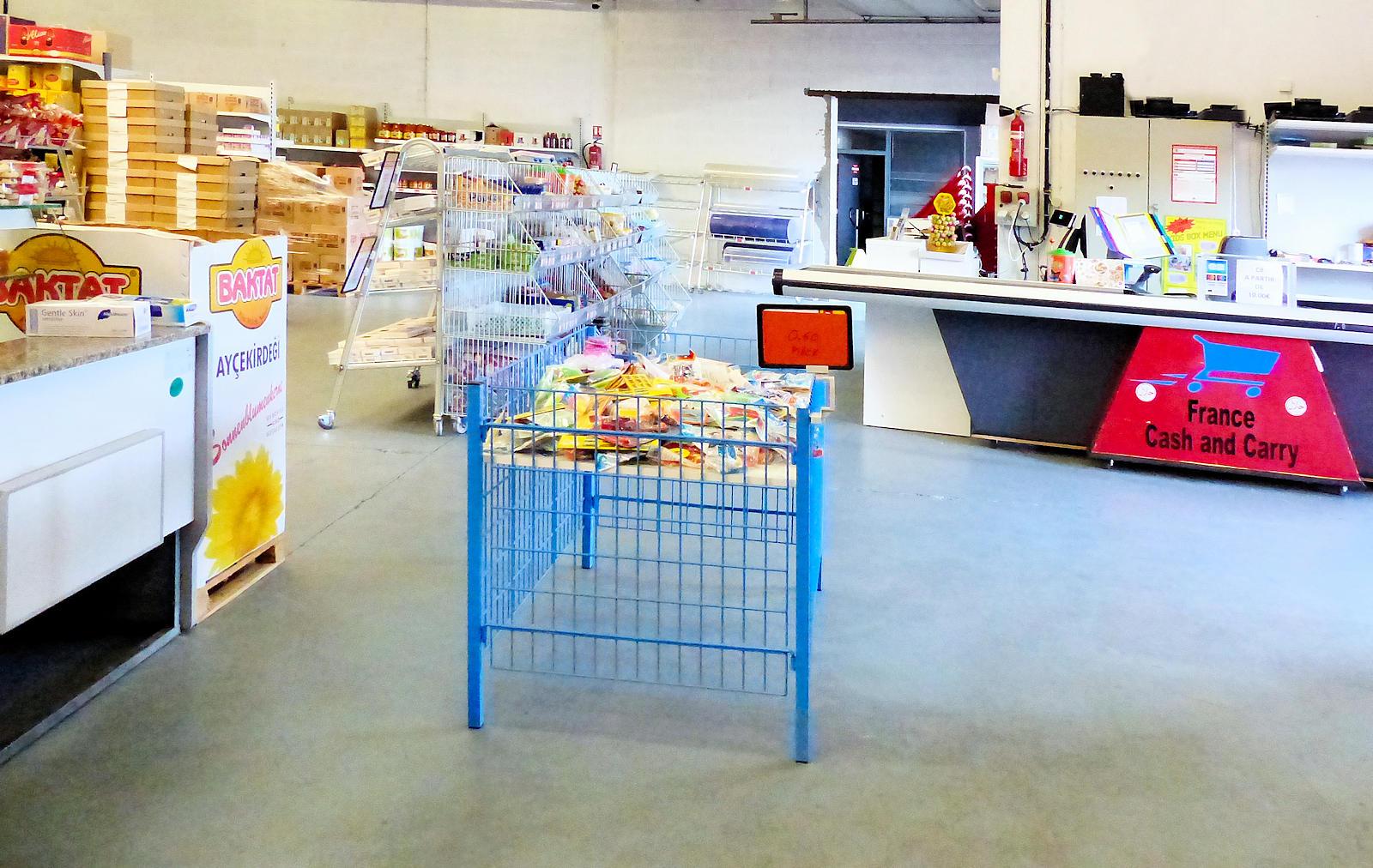 Tek Market, Tourcoing - Caisse