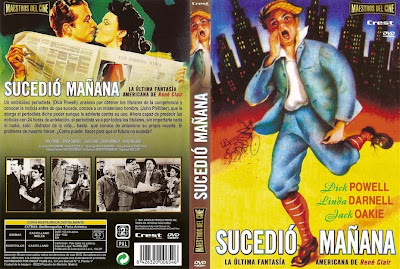 Cover, dvd, caratula: Sucedió mañana | 1944 | It Happened Tomorrow