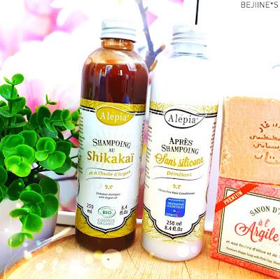 Alepia cosmétiques naturels bio et éthiques shampooing