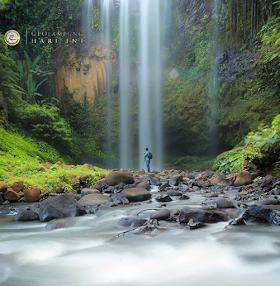 Jelajah Nusantara : Air terjun tirai dengan pesona pelanginya yang indah