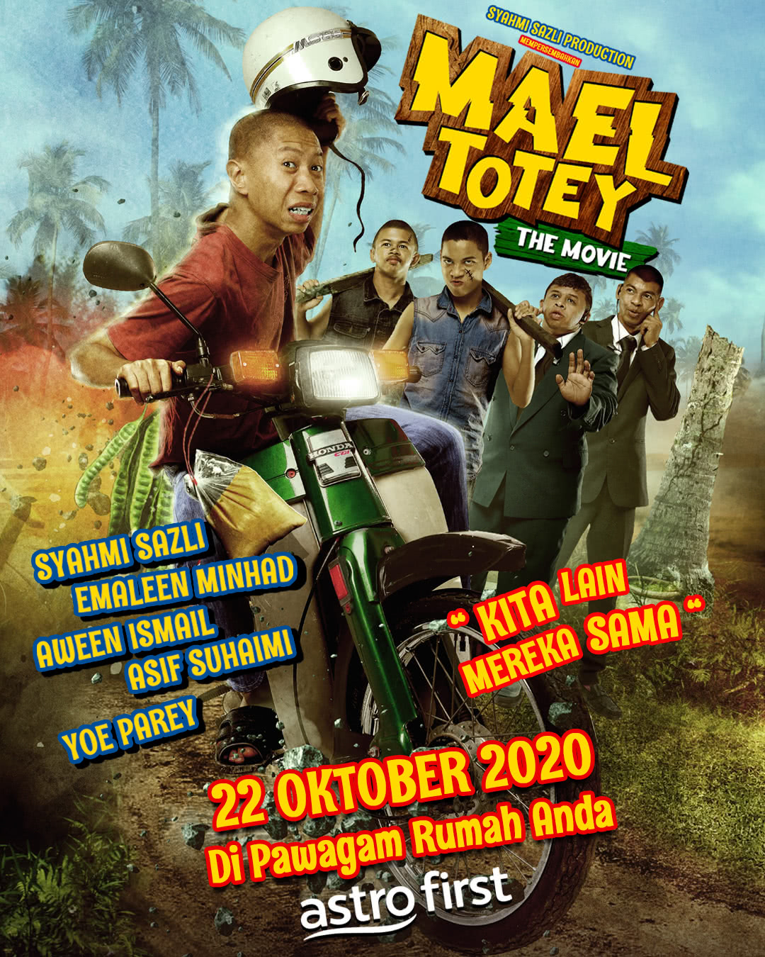 Mael Totey The Movie Poster