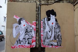 Sunday Street Art : SteW - rue de la Mare - Paris 20