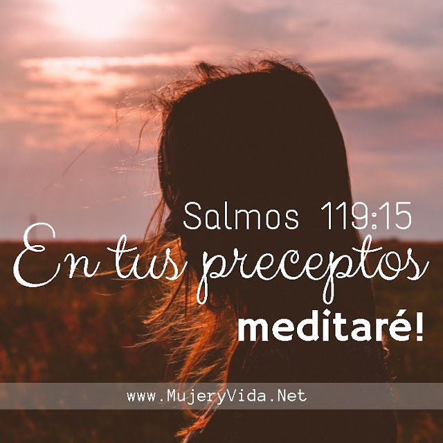 Biblia, Salmos 119, Devocional, Palabra de Dios, Jesús, Mujer