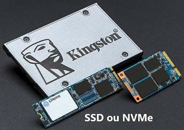 Disque dure SSD : NVMe ou SATA?