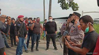Kapolsek Percut Sei Tuan Janpiter: Ketua OKP Harus Bertanggung Jawab Terkait Bentrok di Sampali