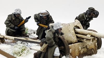 German Pak 40 miniature