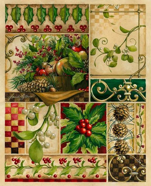 Winter  Montage - Janet Stever