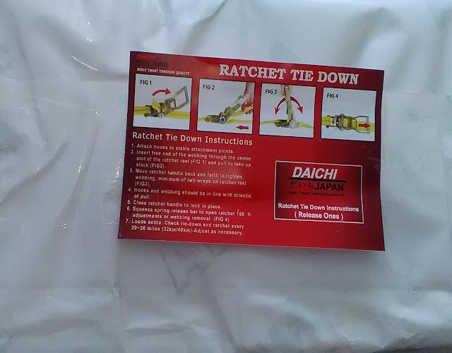 Poster Cara Penggunaan Ratchet Tie Down