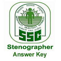 SSC Stenographer Answer Key Download Exam Answer Sheet