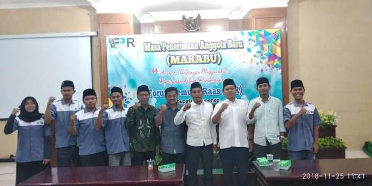 FPR Gelar Acara Marabu Di Bappeda