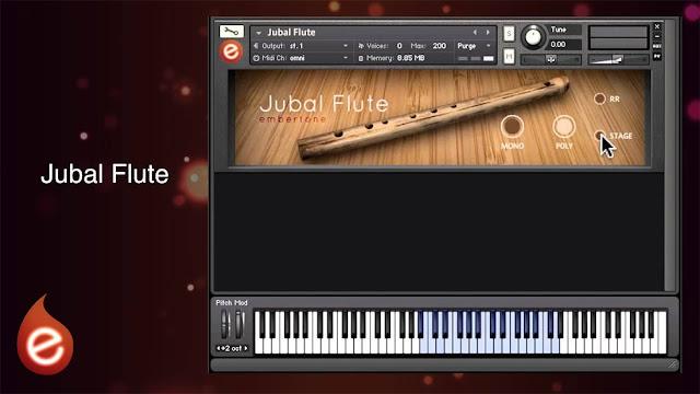 Interface Embertone - Jubal Flute (KONTAKT)