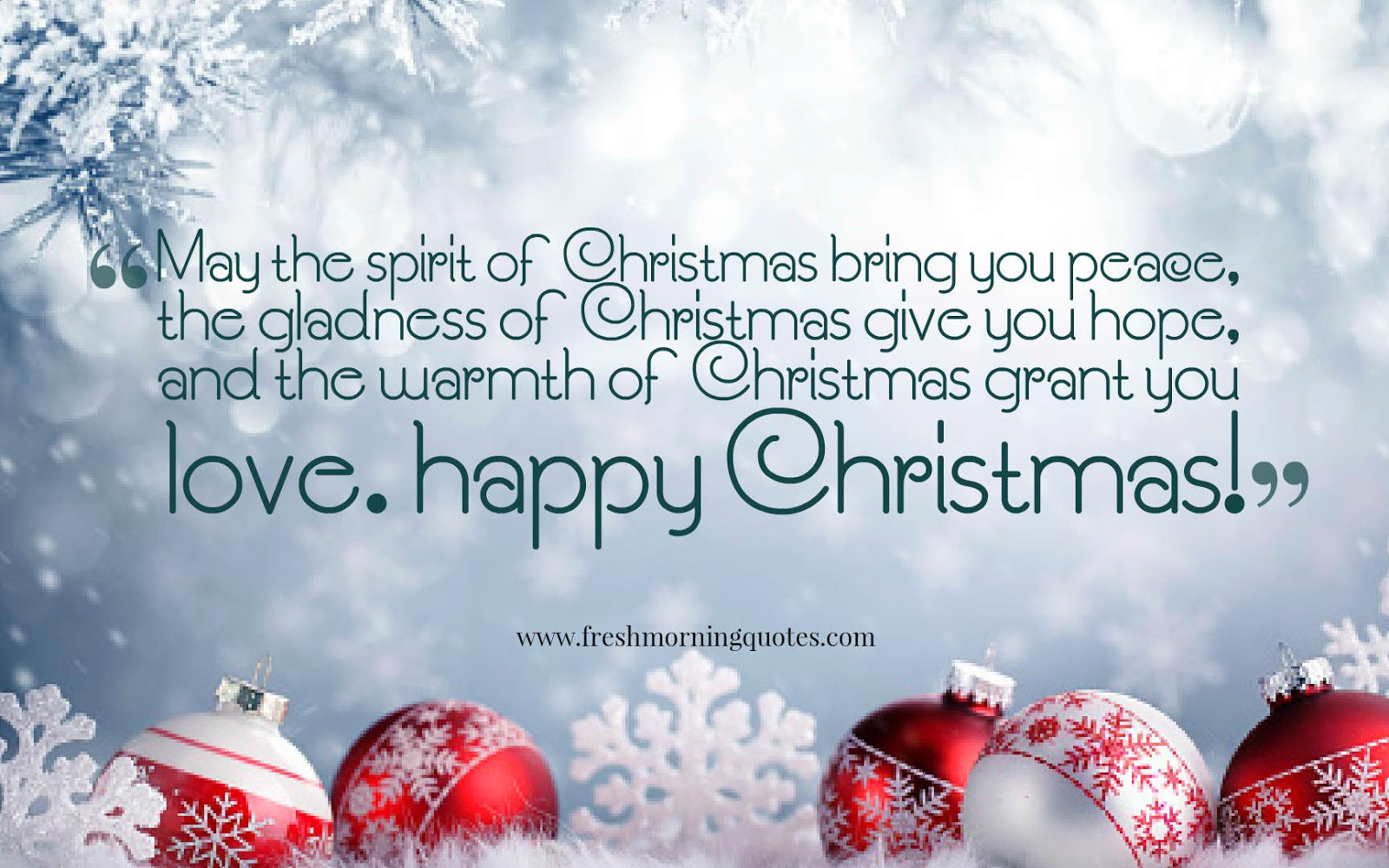 Heart Touching Merry Christmas Greetings