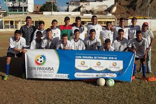 Picuí é campeão da etapa regional da Copa Paraíba Sub-15