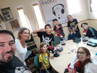 Hacer radio con niños es siempre loco, raro y muy divertido