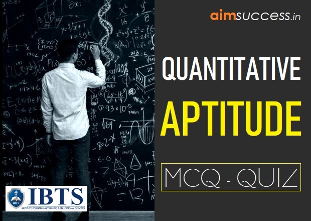 Quantitative Aptitude MCQs for IBPS PO/RRB Mains 2018: 04 Sep