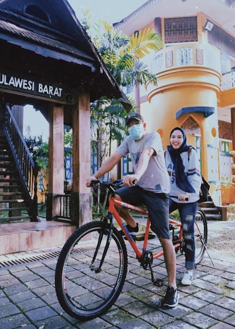 Sepeda Tandem TMII