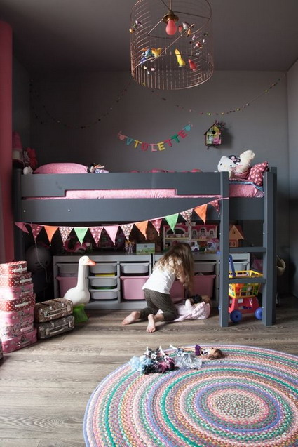 10 cute and lovely bedroom ideas for little girls 10