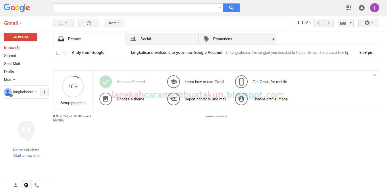 Langkah Cara Membuat Akun Gmail Full Verifikasi Lewat Hp