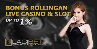 Bonus Rollingan Live Casino & Slot