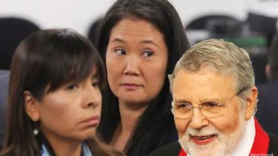 Loza se reunió con Blume antes de la liberación Keiko Fujimori