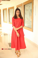 Actress Lavanya Tripathi Latest Pos in Red Dress at Radha Movie Success Meet .COM 0002.JPG