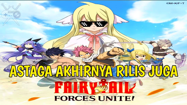 fairy tail: forces unite! rpg mobile game review gameplay