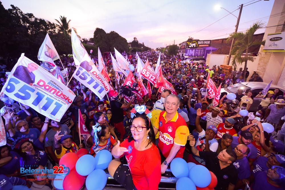 Eleições 2020 : Belezinha confirma liderança com a realização de carreata histórica.