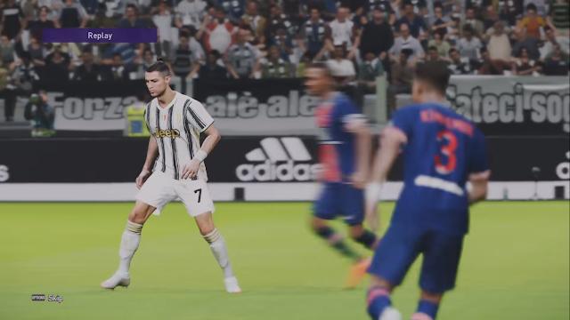 Screenshot Gameplay PES 2020