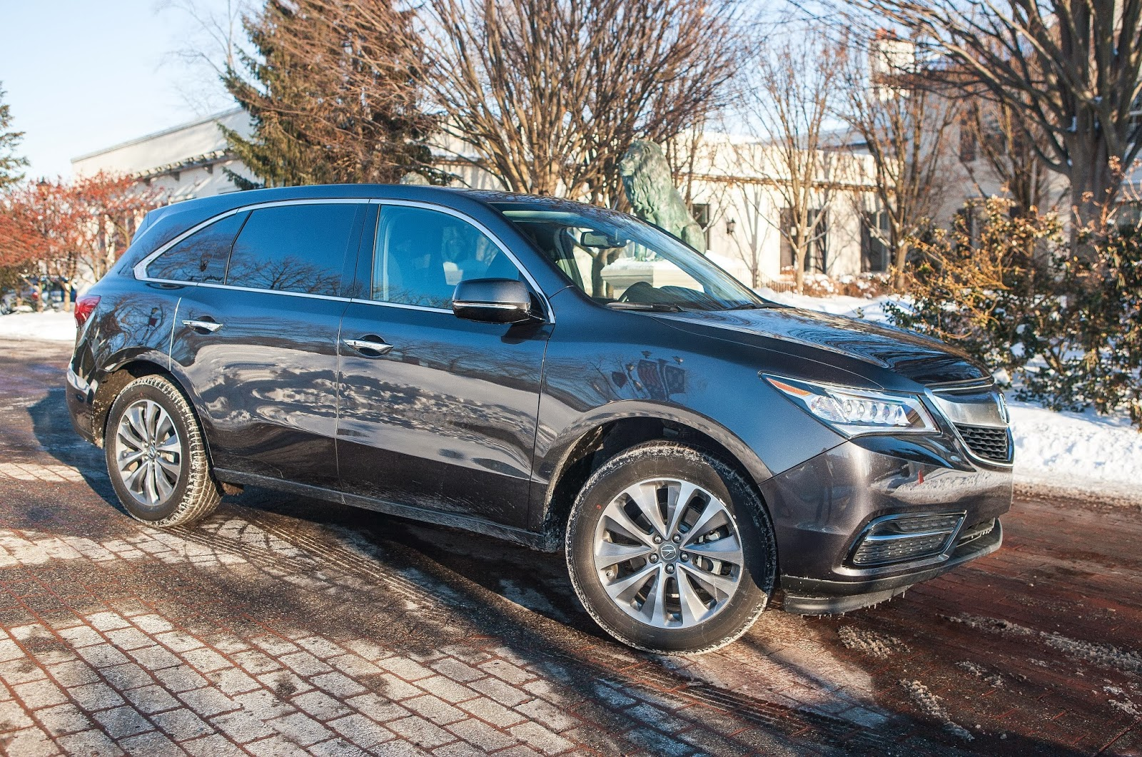 The Auto Advisor Group 2014 Acura Mdx Tech Entertainment Front Wiring Harness From Above You See A Small Sunroof But I Still Enjoyed It Is Luxurious Crossover Suv