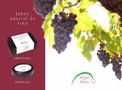 Jabones Natural de Vino