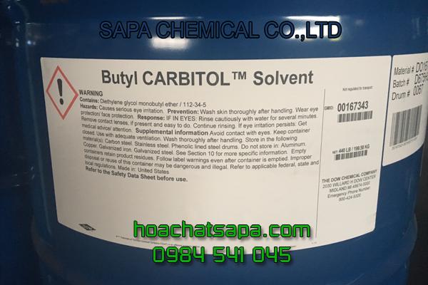 Dung môi Butyl Carbitol BC - công nghiệp sơn - ngành keo dán - mực in