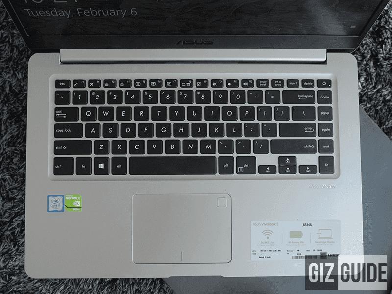 Keyboard is backlit!