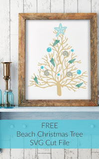 Image to get Free svg file  Beach Christmas Tree limited commercial